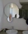 lavabo mosaico scuro arredamento bagno